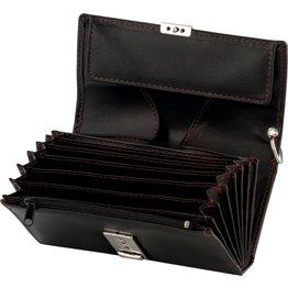 Kellnerbörse mit Kette, schwarz