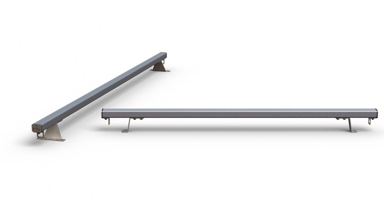 Aluminium allesdragers Fiat Fiorino 2 stuks