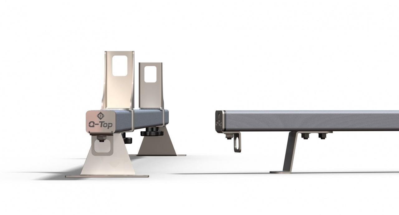 Aluminium allesdragers Ford Transit Courier vanaf 2014 2 stuks