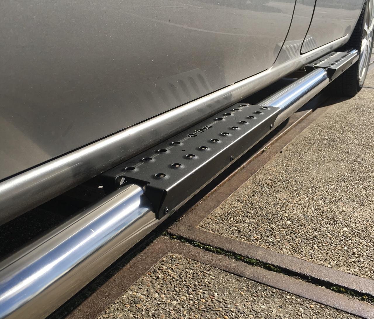 RVS anti-slip step 750 mm
