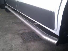 Sidebars RVS Citroen Jumpy tot 2016 L1 Mat