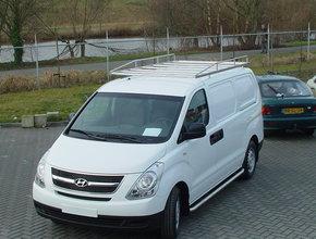 Sidebars RVS Hyundai H300 WB 3200 Mat