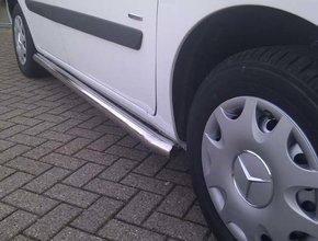 Sidebars RVS Mercedes Citan WB 2700 Mat TUV