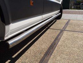 Mercedes Sidebars RVS Mercedes Sprinter vanaf 2018 L1 RVS Mat