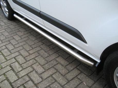Sidebars RVS Peugeot Partner tot 2019 Hoogglans