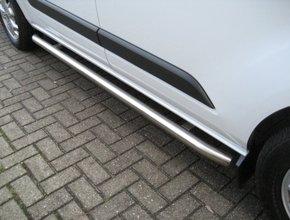 Sidebars RVS Peugeot Partner tot 2019 Mat