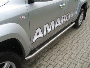 Sidebars RVS Volkswagen Amarok tot 2016 L2 Hoogglans
