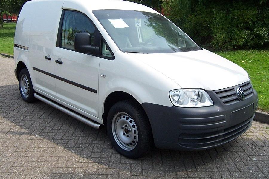 Sidebars RVS Volkswagen Caddy Maxi vanaf 2010 L2 Mat