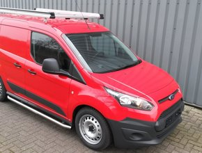 Aluminium imperiaal Ford Transit Courier vanaf 2014 inclusief opsteekrol