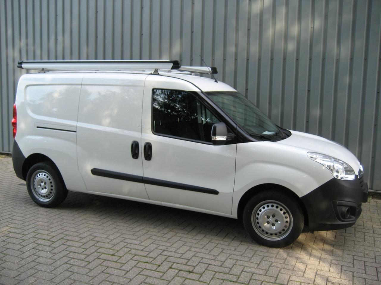 Aluminium imperiaal Opel Combo vanaf 2012 L1 H1 met achterdeuren inclusief opsteekrol