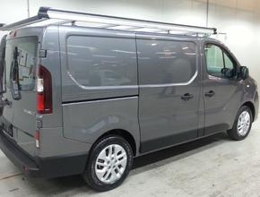 Opel Aluminium imperiaal Opel Vivaro vanaf 2014 L1 H1 met achterdeuren inclusief opsteekrol