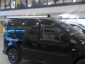 Aluminium imperiaal Volkswagen Caddy vanaf 2011 met achterdeuren inclusief opsteekrol