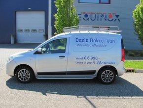 Imperiaal RVS Dacia Dokker vanaf 2013 WB 2810
