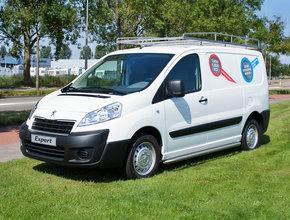 Fiat Imperiaal RVS Fiat Scudo vanaf 2007 L2 LWB met achterdeuren inclusief opsteekrol