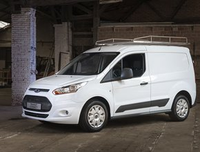 Imperiaal RVS Ford Transit Connect KWB tot 2014 met achterdeuren