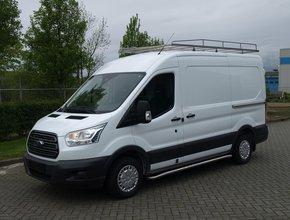 Imperiaal RVS Ford Transit tot 2014 KWB met semi hoog dak