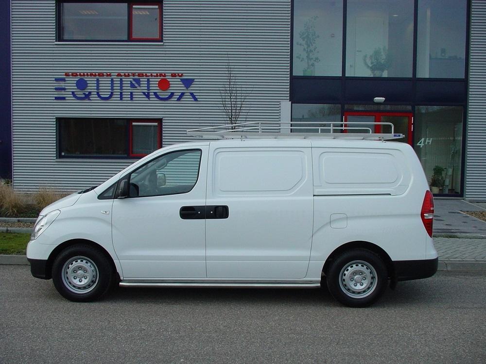 Imperiaal RVS Hyundai H300 vanaf 2008 WB 3200 met achterdeuren