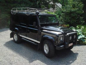 Land Rover Imperiaal RVS Land Rover Defender 110