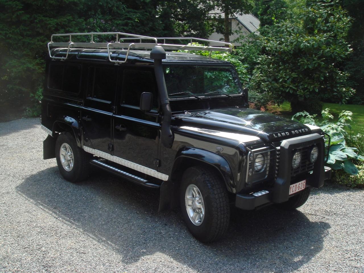 Imperiaal RVS Land Rover Defender 110