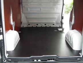 Laadvloer 12mm Nissan Primastar L1 - Enkele schuifdeur