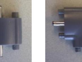 Led-light 12v verbindingsconnector - Recht/Male