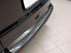 Bumperpaneel RVS Opel Vivaro tot 2014 uitvoering met ribbelmotief
