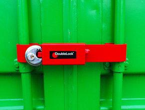 Inbraakbeveiliging DoubleLock Container Lock JUNIOR RED