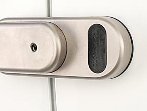 Gatelock beveiligingsslot niet zelfsluitend