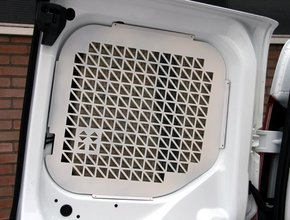 Ruitbeveiliging Citroen Jumpy tot 2016 uitvoering met achterdeuren zonder ruitenwisser - Wit
