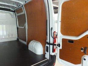 Deurpanelen Ford Transit Custom vanaf 2012 complete set enkele schuifdeur