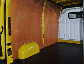Wandbetimmering Renault Master vanaf 2010 L1 H1 uitvoering met enkele schuifdeur