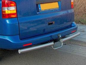 Nissan Rearbar RVS geborsteld Nissan NV300 uitvoering met trekhaak