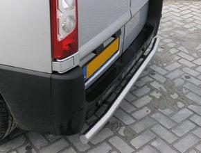 Nissan Rearbar RVS geborsteld Nissan NV300 uitvoering zonder trekhaak