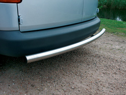 Rearbar RVS geborsteld Peugeot Bipper vanaf 2008 WB 2513