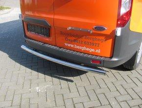 Ford Rearbar RVS gepolijst Ford Transit Custom vanaf 2012 uitvoering zonder trekhaak