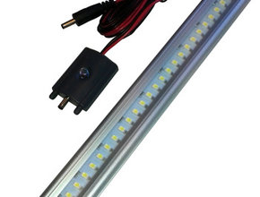 Led light 12v Cool White - 30 cm aan / uit switch