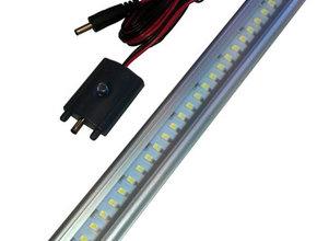 Led light 12v Cool White - 50 cm aan / uit switch