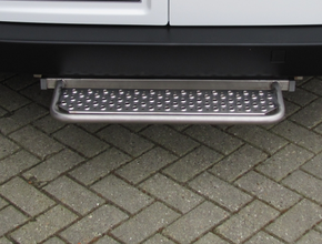 Opstaptrede Volkswagen Crafter vanaf 2006 L2 L3 zonder trekhaak