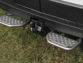 Opstaptrede Volkswagen Crafter vanaf 2006 links & rechts met trekhaak