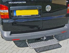 Opstaptrede Volkswagen T5 vanaf 2003 met trekhaak