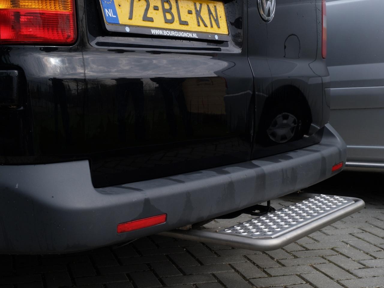 Opstaptrede Volkswagen T6 zonder trekhaak - geborsteld