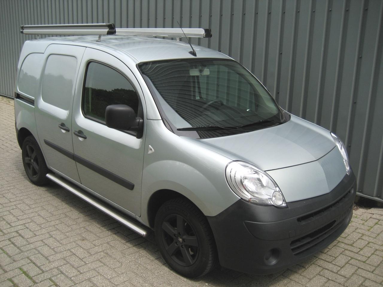 Aluminium imperiaal Renault Kangoo vanaf 2008 WB 0 Compact met achterdeuren inclusief opsteekrol