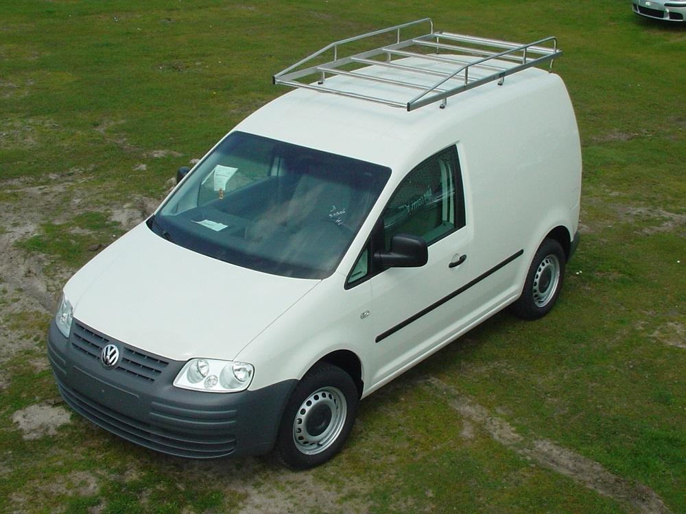 Imperiaal RVS Volkswagen Caddy vanaf 2004 met achterdeuren