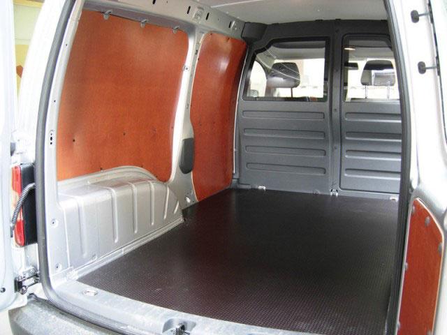 Laadvloer 12mm Volkswagen Caddy Maxi vanaf 2004  - Enkele schuifdeur