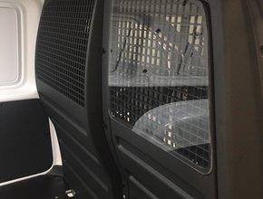 Volkswagen Set van 2 kunststof ruiten voor origineel Volkswagen Caddy tussenschot
