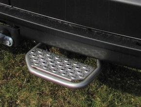 Opstaptrede Volkswagen Crafter vanaf 2017 rechterzijde met trekhaak