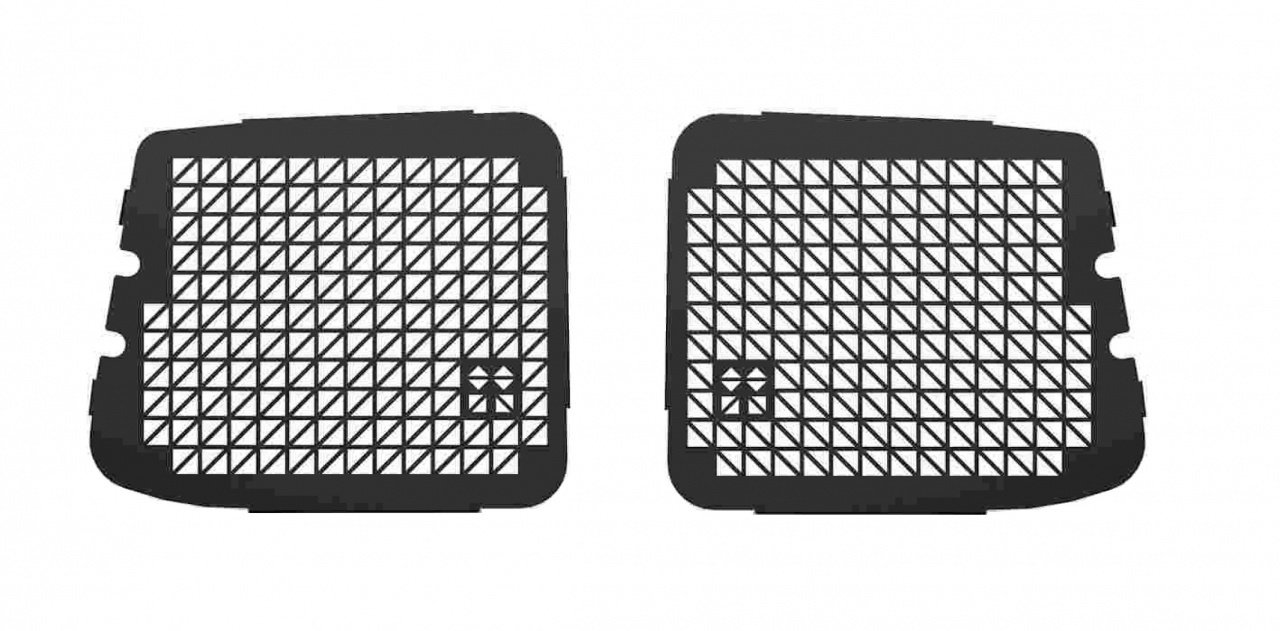 Ruitbeveiliging Opel Combo vanaf 2019 uitvoering met achterdeuren