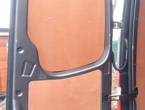 Deurpanelen Opel Vivaro tot  2014 achterdeuren bovenzijde 2 stuks