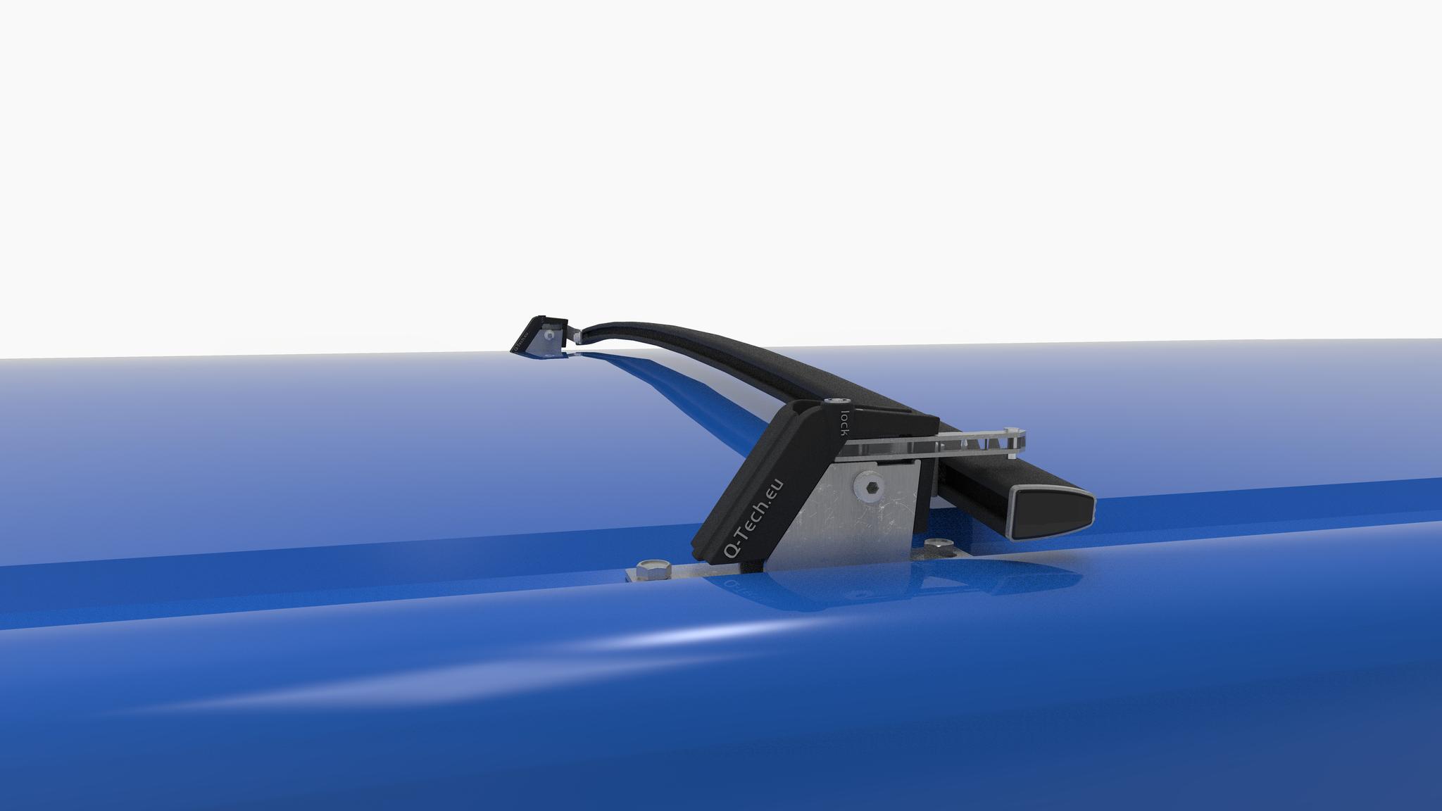 Inklapbare allesdrager Renault Trafic vanaf 2014 - 2 stuks