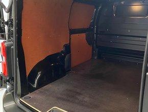 Peugeot Laadvloer 12mm Peugeot Expert vanaf 2016 L1 met sjorooggaten en deksels - Enkele schuifdeur